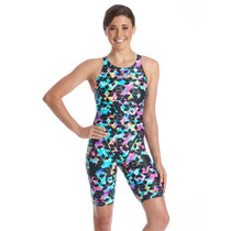Amanzi Women's Midnight Eclipse Knee Length Swimsuit