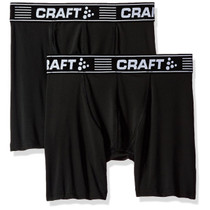 Craft Men's 6-Inch Greatness Boxer 2-Pack
