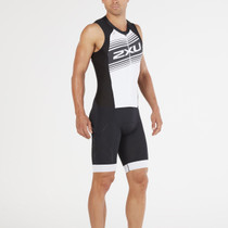 2XU Men's Compression Full Zip Tri Suit - 2018