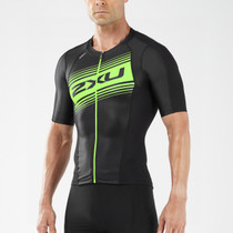 2XU Men's Compression Sleeved Tri Top - 2018