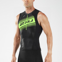 2XU Men's Compression Tri Singlet - 2018