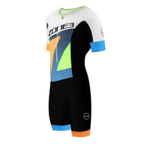 Zone3 Men's Lava Long Distance Limited Edition Short Sleeve Aero Tri Suit
