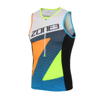 Zone3 Men's Lava Limited Edition Long Distance Tri Top