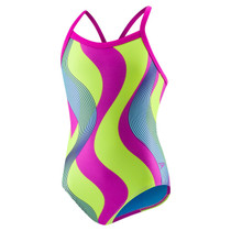 Speedo Women's Flipturns Race Riderz Propel Back Swimsuit