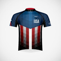 Primal Wear Men's American Patriot Cycling Jersey