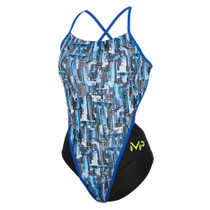 Aqua Sphere Women's Michael Phelps City Racing Back Swimsuit - 2018