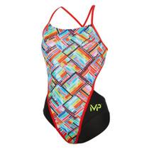 Aqua Sphere Women's Michael Phelps Subway Racing Back Swimsuit - 2018