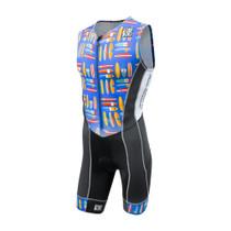 DeSoto Men's Forza Flisuit Tri Suit