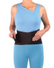 Mueller 4581 Adjustable Back Brace | Front View | Physical Sports First Aid
