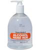 Alcohol Hand Rub | 500ml Desktop Pump Dispenser | Physical Sports First Aid
