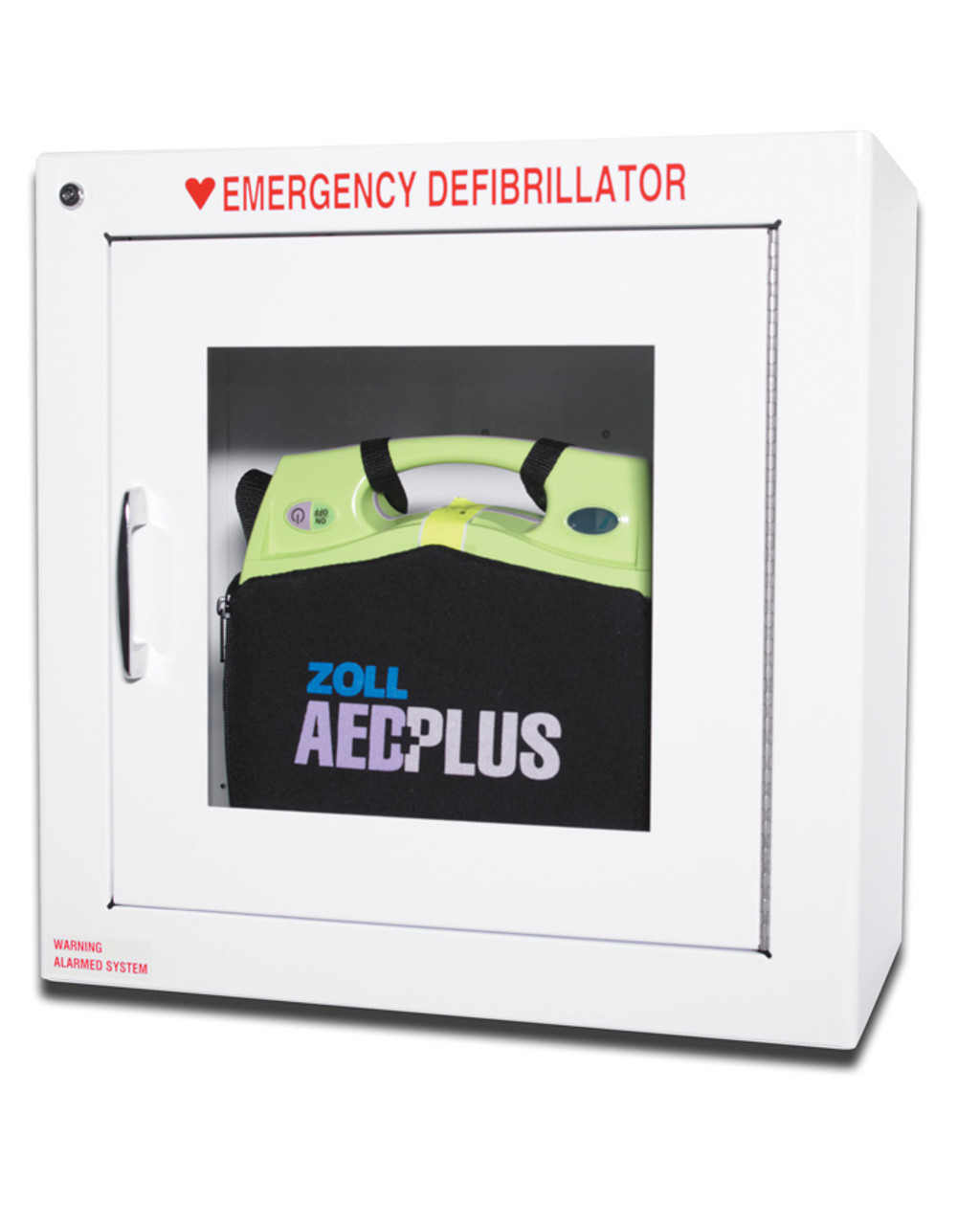 Zoll Defibrillator Cabinet Alarmed Physical Sports