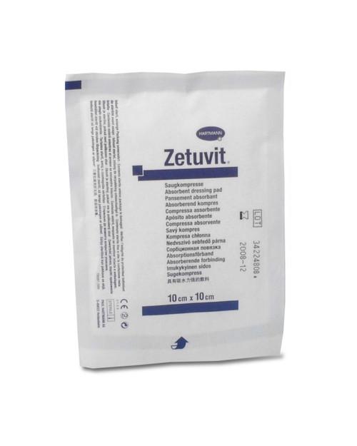 Zetuvit E Sterile Trauma Dressing, 10cm x 10cm | Physical Sports First Aid
