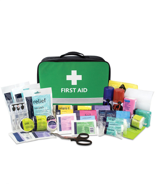 Relisports Stadium First Aid Kit   Bag and Contents   Physical Sports First Aid