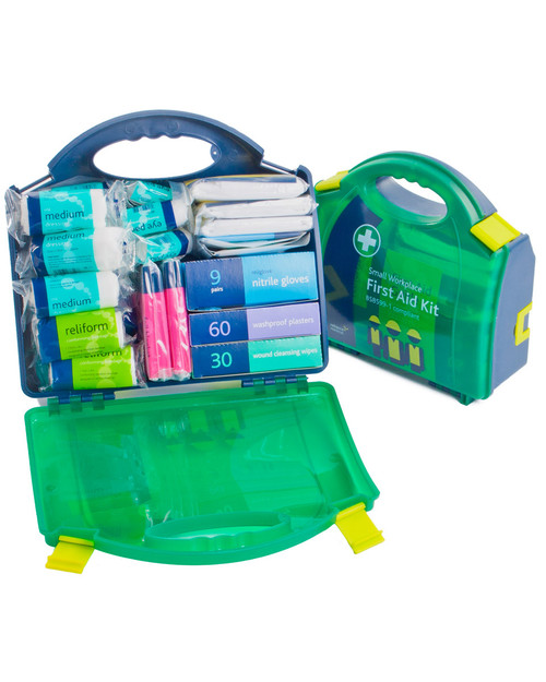BS-8599-1 Workplace First Aid Kit Contents | Physical Sports First Aid