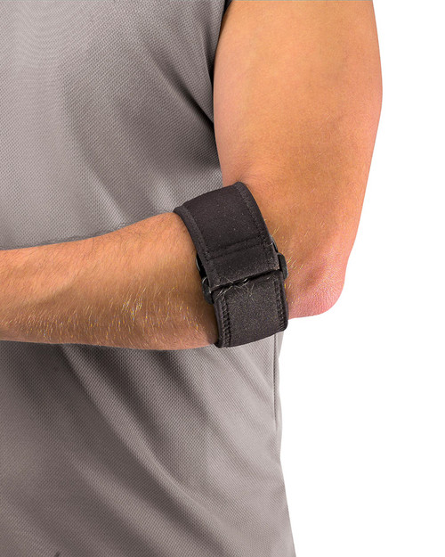 Mueller 70207 Tennis Elbow Support with Gel Pad | Physical Sports First Aid