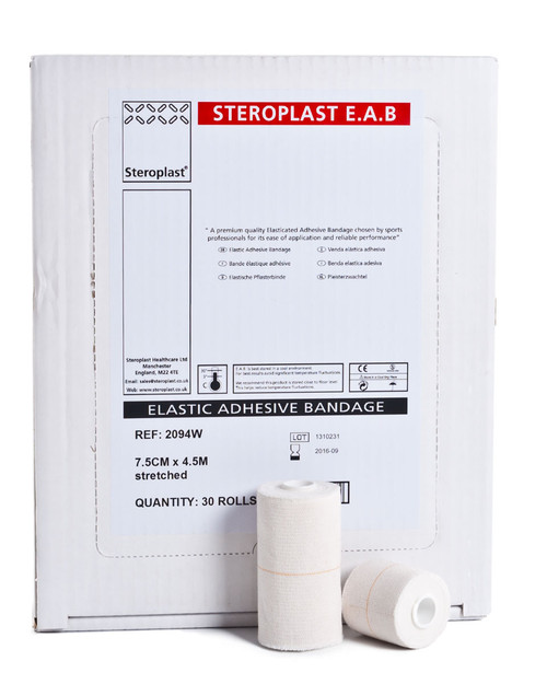 Steroplast Elastic Adhesive Bandage | Discounted Bulk Box / Case | Physical Sports First Aid