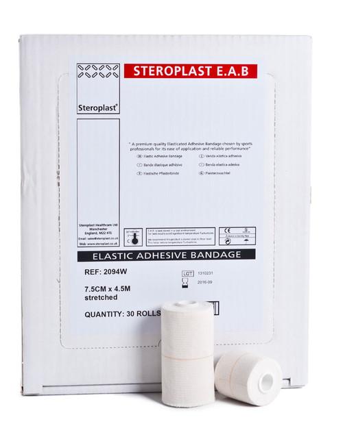 Steroplast Elastic Adhesive Bandage | Discounted Bulk Box / Case | Physical Sports First Aid