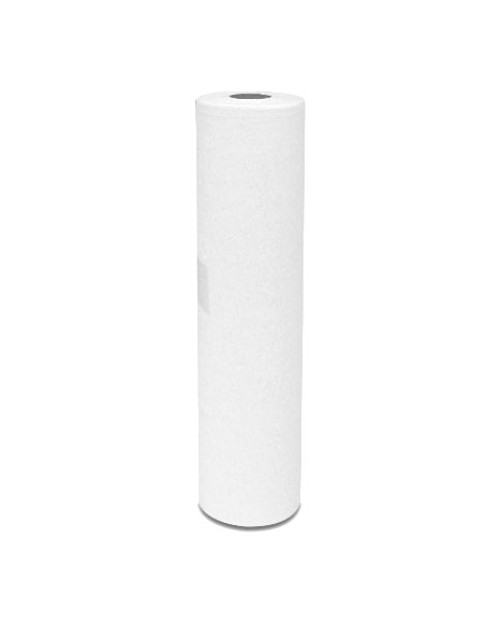 "20"" Couch Roll, white paper"