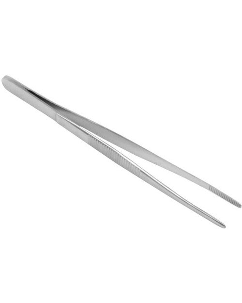 Blunt-End Dissecting Forceps, Stainless Steel, 125mm | Physical Sports First Aid