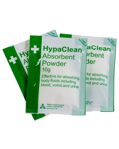 HypaClean Absorbent Powder 10g Sachets | Physical Sports First Aid