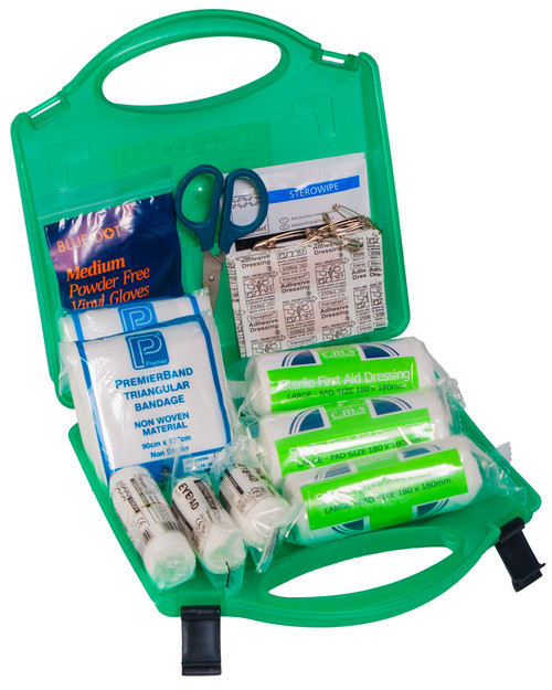 Public Service Vehicle First Aid Kit | In Mini Box BOXM2 | Physical Sports First Aid