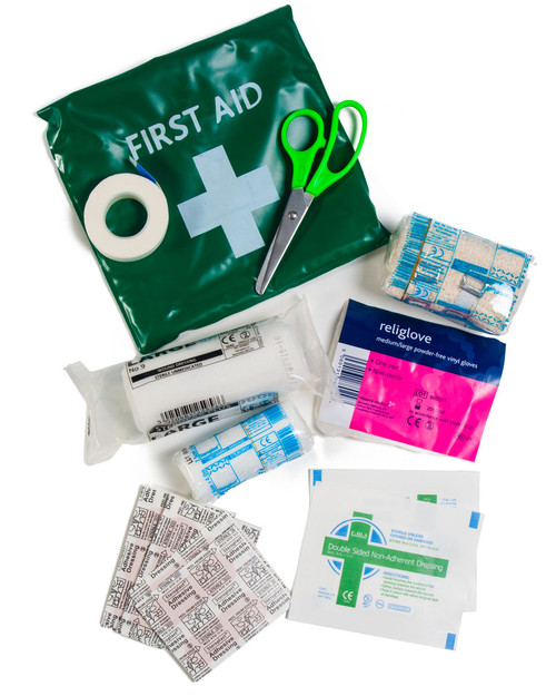 Traveller's Basic First Aid Pack | Contents | Physical Sports First Aid