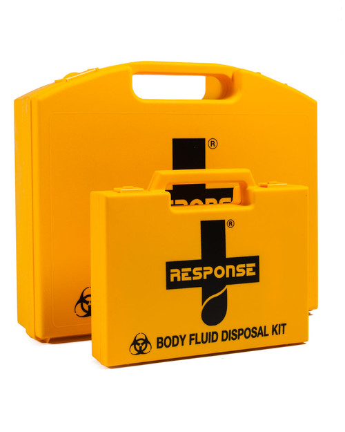 Response Body Fluid Disposal Kits | 2 Application and 5 Application Sets | Physical Sports First Aid