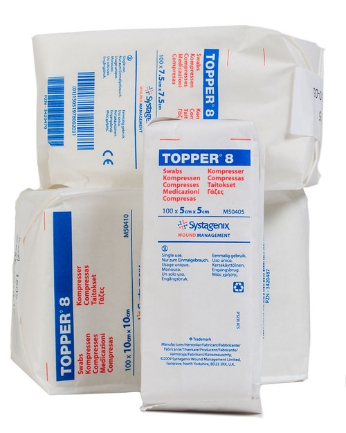 Topper 8 Swabs | Physical Sports First Aid