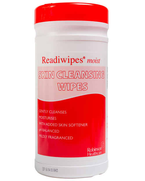 Readiwipe Skin Cleansing Wipes | Drum of 200 | Physical Sports First Aid