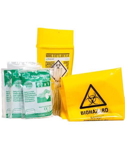 Sharps Disposal Kit   Physical Sports First Aid