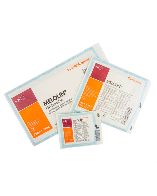 Melolin Non-Adherent Dressing | Single Dressings | Physical Sports First Aid