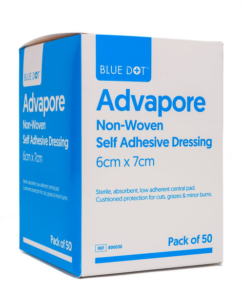 Advapore Adhesive Dressings | Pack Shot | Physical Sports First Aid
