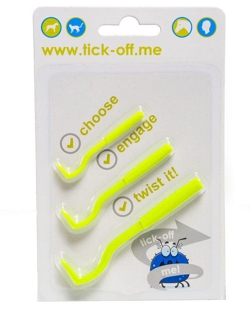 Tick Off Me Tick Remover, 3 Pack | Physical Sports First Aid