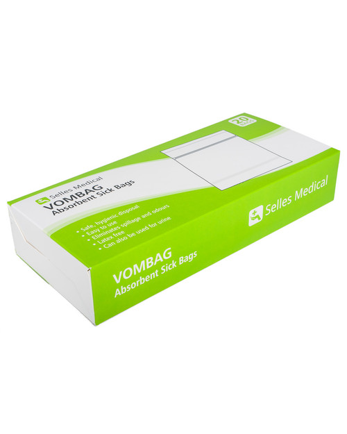 Vomit and Urine Bags | Top View | Physical Sports Limited