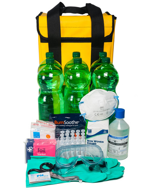 Acid Attack Response Kit MOD Spec | Bag & Contents | Physical Sports First Aid