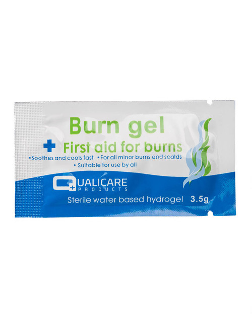 Qualicare Burn Gel | 3.5g Sachet | Physical Sports First Aid