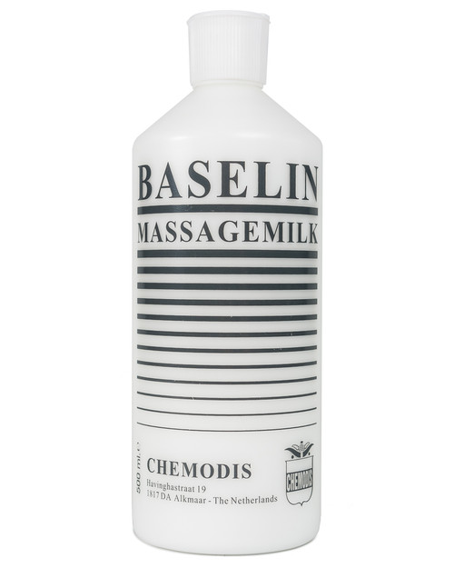 Baselin Massage Milk | 500ml Bottle | Physical Sports First Aid