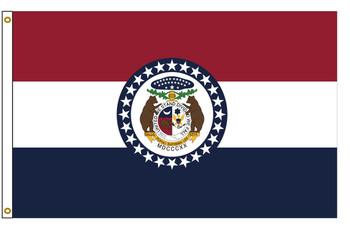 Missouri 4'x6' Nylon State Flag 4ftx6ft