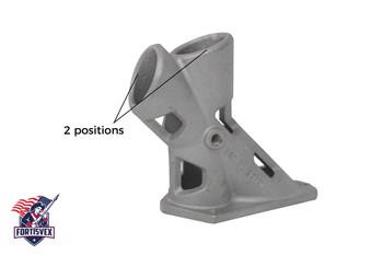 """1.25"""" 2 Position 1-1/4 Inch Aluminum Flagpole Bracket With Hardware"""