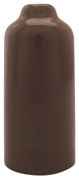 "Brown 3-1/2"" Inch Vinyl Snap Cover"
