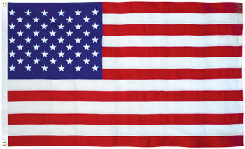 American Flag 4x6 Ft 2-Ply Polyester Presidential Series Sewn 4'x6' US Flag