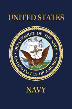 US Navy 18inx12in Nylon Garden Flag