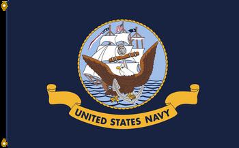 US Navy 6ftx10ft Nylon Flag