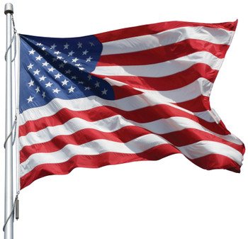 American Flag 10x19 Ft 2-Ply Polyester Presidential Series Sewn 10'x19' US Flag