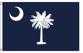 South Carolina 6'x10' Nylon State Flag 6ftx10ft