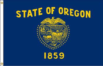 Oregon 8'x12' Nylon State Flag 8ftx12ft