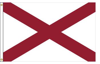 Alabama 3'x5' Nylon State Flag 3ftx5ft