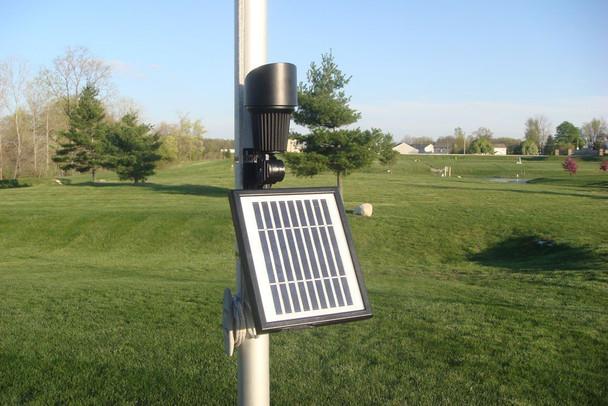 Best Flagpole Solar Light Commercial Grade
