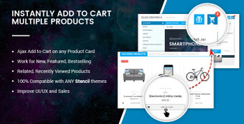 BigCommerce Ajax Add Multiple Products to Cart without leaving page