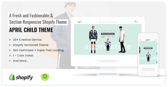 APRIL-03 - Best choice for Fashion Online store Shopify Theme